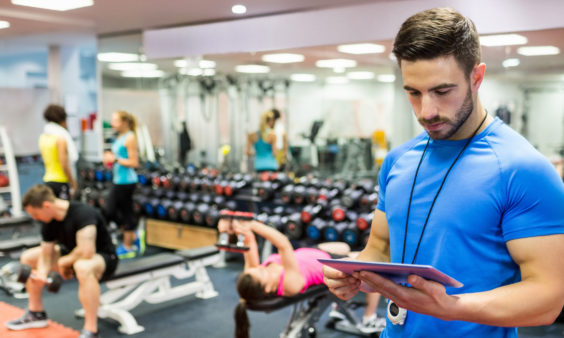 Fitness Industry First Step Training